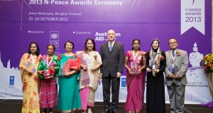Lankan woman receives int'l Peace Award