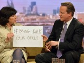 David Cameron joins 'Bring Back Our Girls' campaign