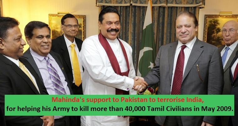 TWO Pakistani HC staff in Colombo sent a three Sri Lankan Muslim's to India on a terror launch attacks in India.