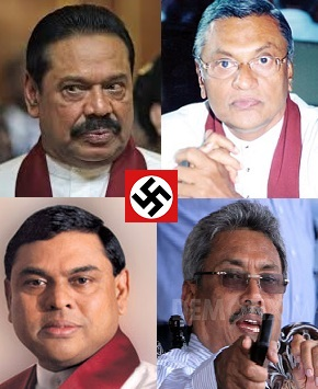 Dictators of Sri Lanka Mahinda brothers