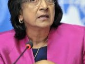UN Human Rights Commissioner, Navanethem Pillay