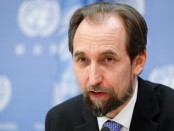 United Nations High Commissioner for Human Rights, Mr. Zeid Ra'ad Zeid al-Hussein