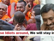 buddhist-monks-protest-in-colombo 3