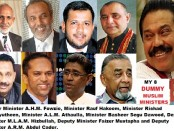 8 DummY Muslim Ministers