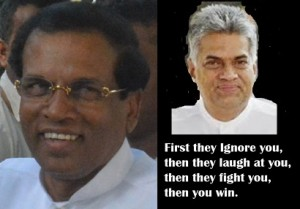 maithiri and Ranil