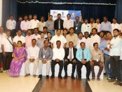 YES Delegation with Indian Consul General in Jaffna, A.Natarajan