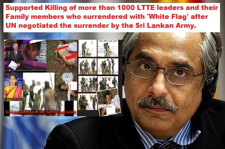 Image result for white flag killing in sri lanka