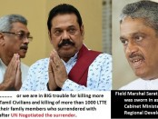 fonseka and mahinda