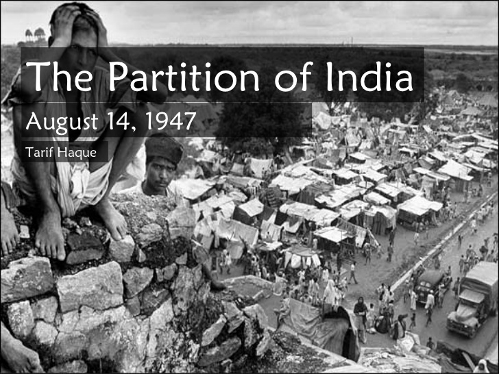 Partition Of India 1 728