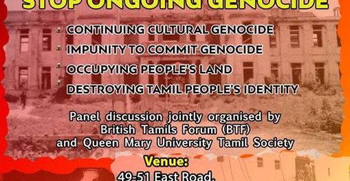 "Anatomy of an Anti-Tamil Pogrom: Thirty-fourth Anniversary of ""Black ..."