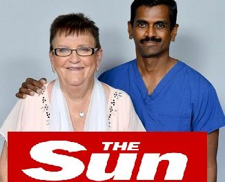 Dr GUNASEKARAN KUMAR in The Sun's inaugural Who Cares Wins Health Awards