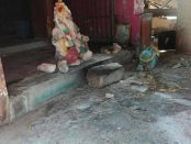 20180223 Jaffna Hindu temple vandalised MS 1