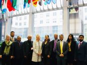 TNA & GTF Members with Amb Alice J Wells at the US State Dept in Washington DC