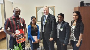 Meet with MP Stephen Woodworth