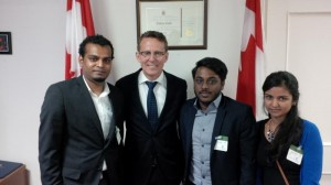 Meeting with MP Andrew Cash