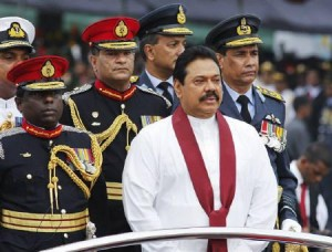 mahinda and army