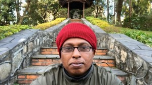 Hemantha Kuruppu, 41, in Kathmandu, Nepal, where he has been granted refugee status by the United Nations. Last year he was refused entry to Australia and repatriated to Sri Lanka.