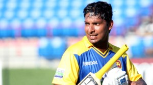 Kumar Sangakkara named as Leading International Cricketer in the World and one of Wisden's Five Cricketers of the Year. (File Picture Mahesh Abeyewardene)