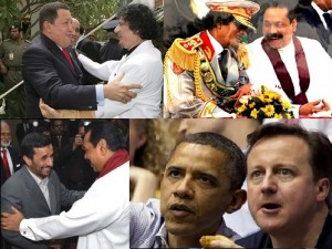 Mahinda and anti us
