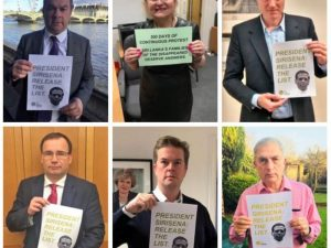 British MPs disappeared
