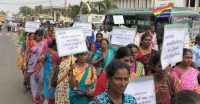 Th28-Meera-Protest against microfinance