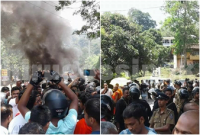 curfew imposed in Kandy