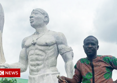 Benin Bronzes: 'My great-grandfather sculpted the looted treasures'